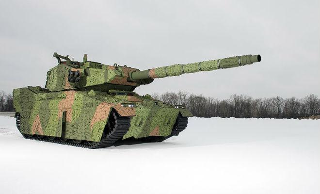 Новый танк США: военные показали преемника Абрамса abrams,бронетехника,новый американский танк,Пространство,США,танк