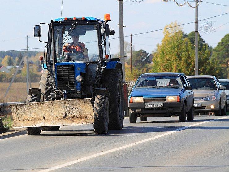 Как можно лишиться прав, обгоняя тихохода авто и мото,автоновости,автосоветы