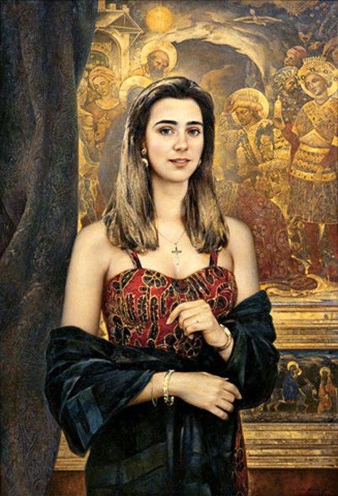 Женские образы в живописи современного русского художника Василия Нестеренко рассказы