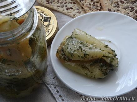 Приготовление рецепта Острая закуска с болгарским перцем шаг 8