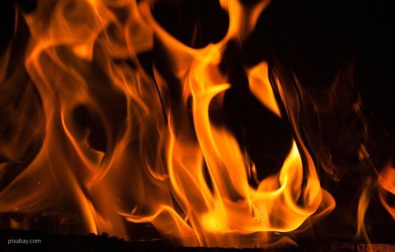 В пожаре в Вологодской области пострадал ребенок