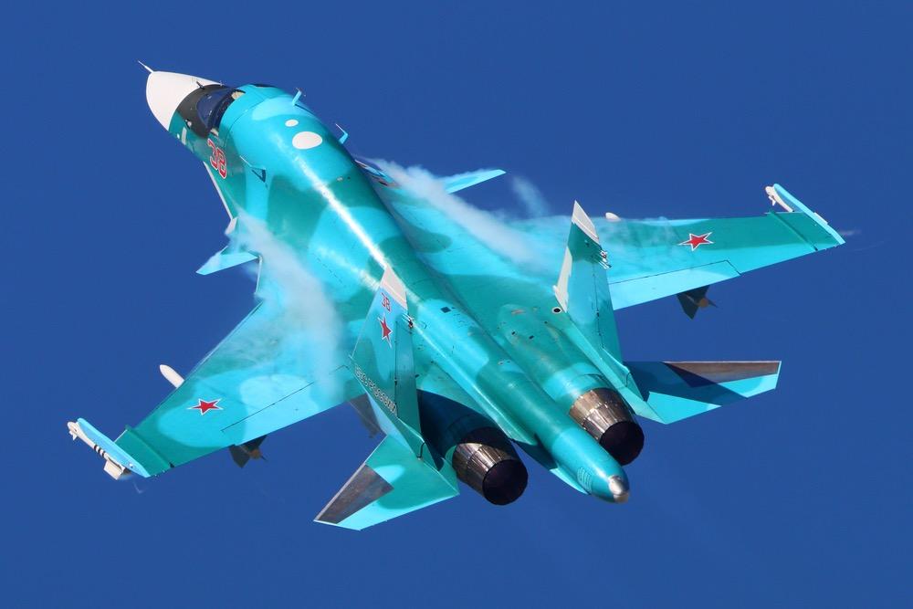 Military Watch: Су-34 является лучшим истребителем-бомбардировщиком в мире