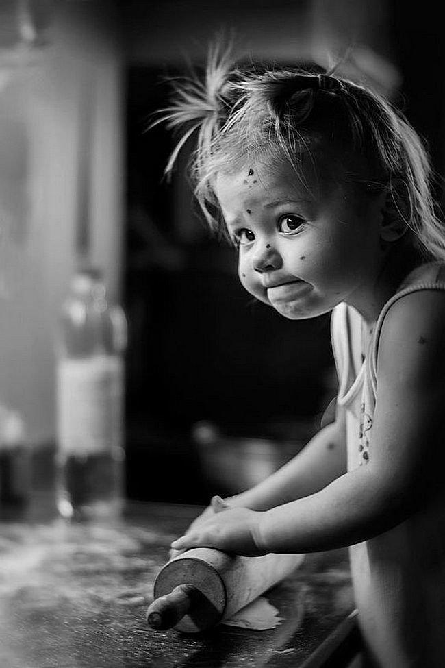 Про, смешные черно белые картинки детей