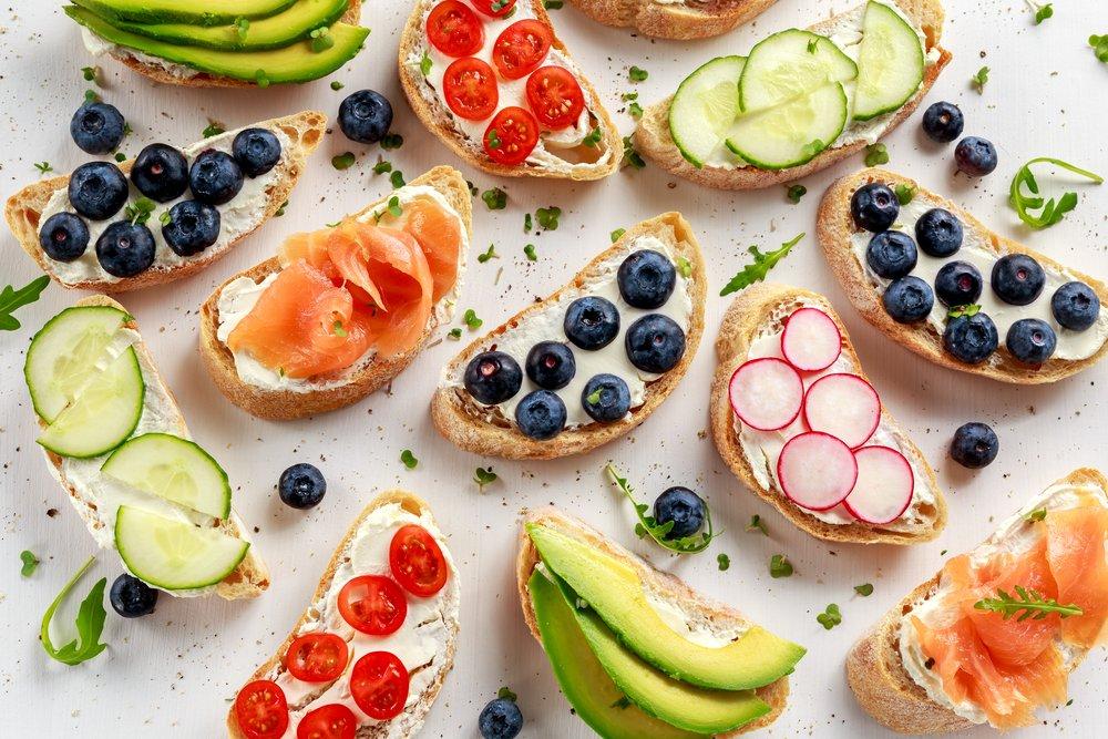 Бутерброды и закуски: 7 идей…