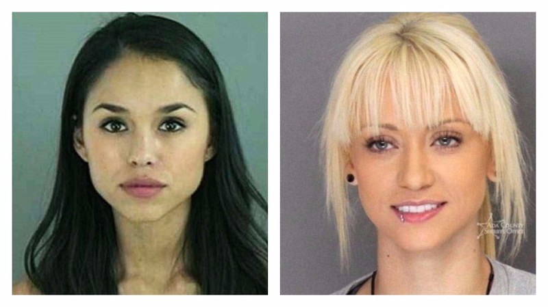 Преступницы-модели: коллекция фотографий симпатичных девушек после ареста