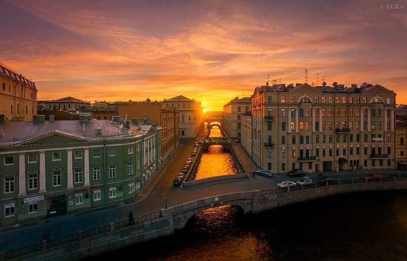 Завораживающий Санкт-Петербург