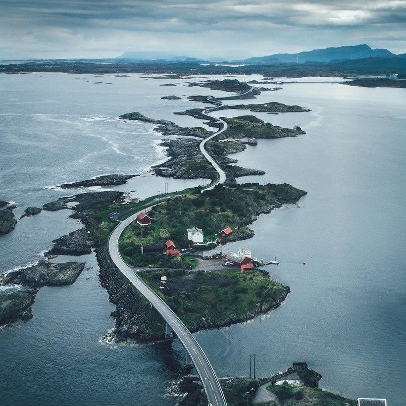 атлантическая дорога в норвегии фото новичок кулинарном