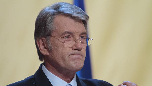 Ющенко сравнил Донбасс с гит…