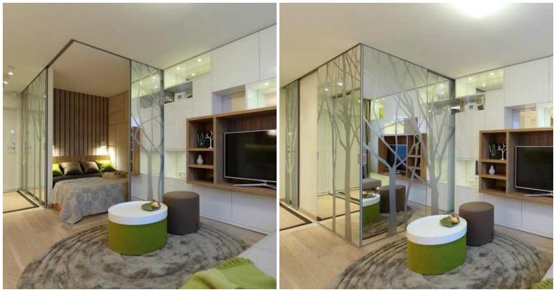 Из однушки в двушку: необычный дизайн квартиры 34 кв. м.
