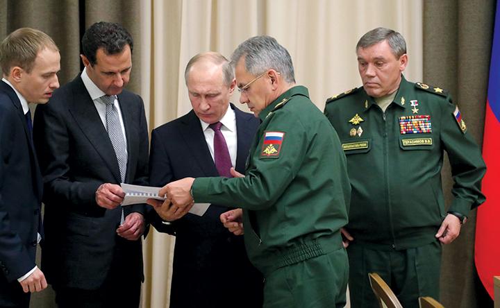 Официальный журнал ВС США написал о победе России в Сирии