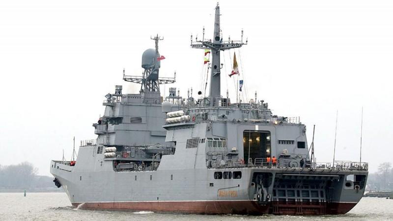 БДК «Иван Грен» принят в состав ВМФ России