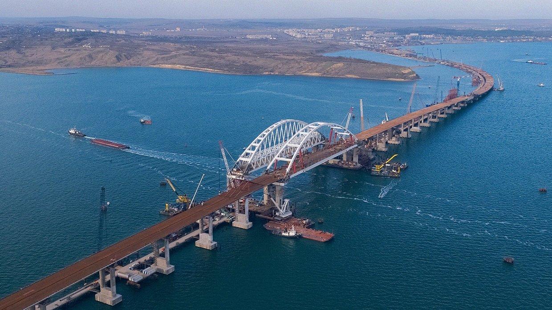 екатеринославе, улице фото крымского моста с воздуха складывается множества