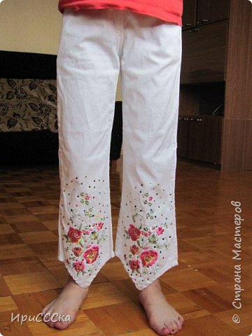 Будем делать модные рваные шорты из старых джинсов. фото 2