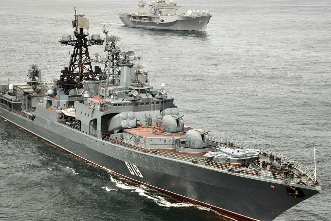 Мощь российского флота на видео