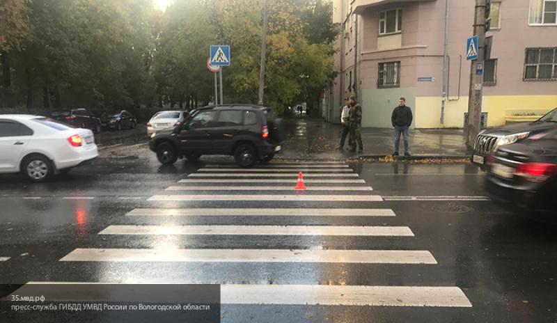 В Вологде мужчина сбил медсестру на пешеходном переходе