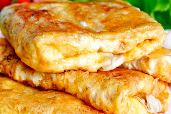 Очень быстрый и вкусный завтрак из простых продуктов