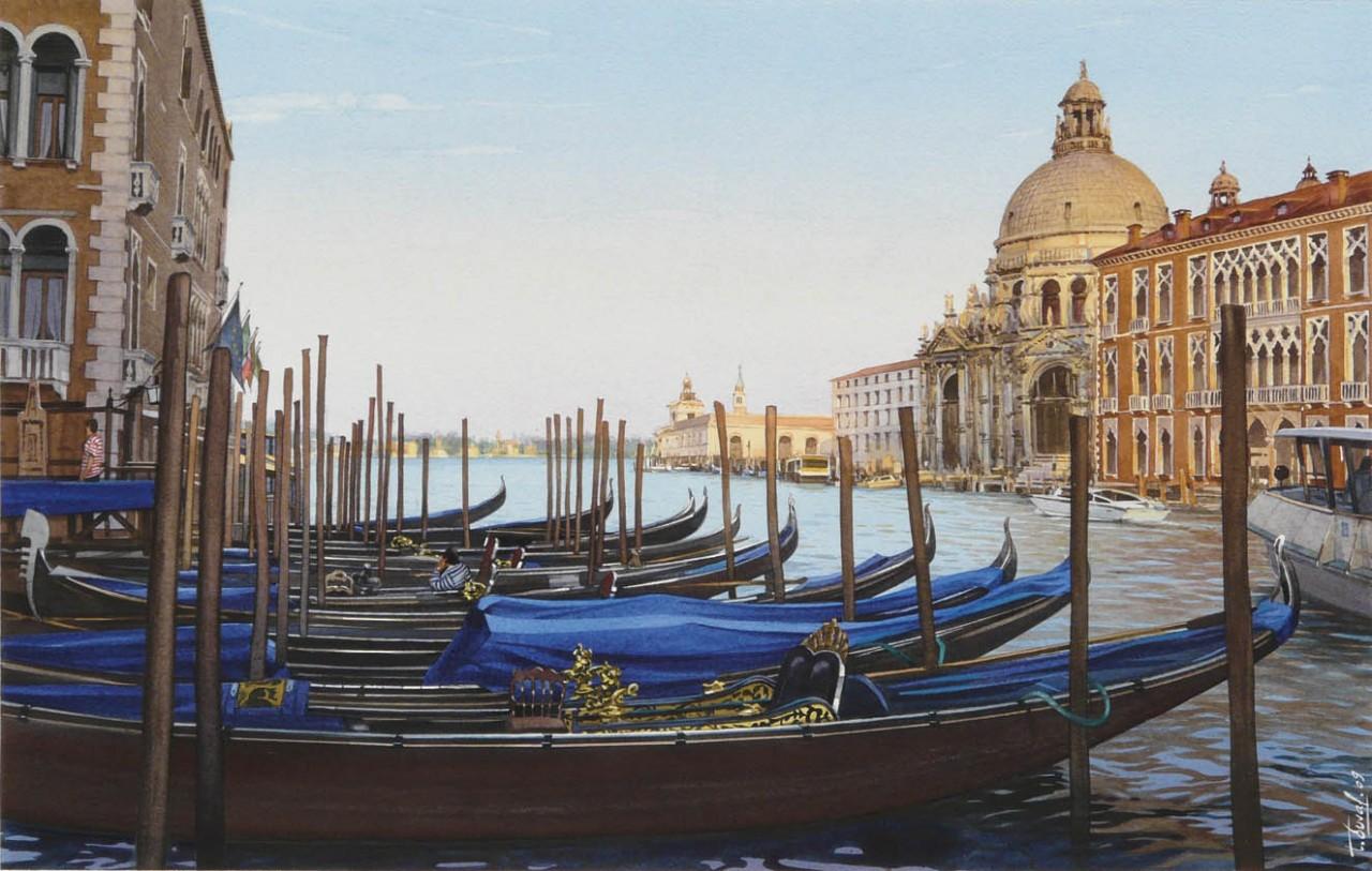 Le Grand Canal et la Basilique Santa Maria
