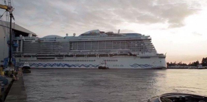 Строительство AIDAnova обошлось в 700 млн евро AIDAnova, carnival, ynews, германия, корабль, лайнер, мир, новости