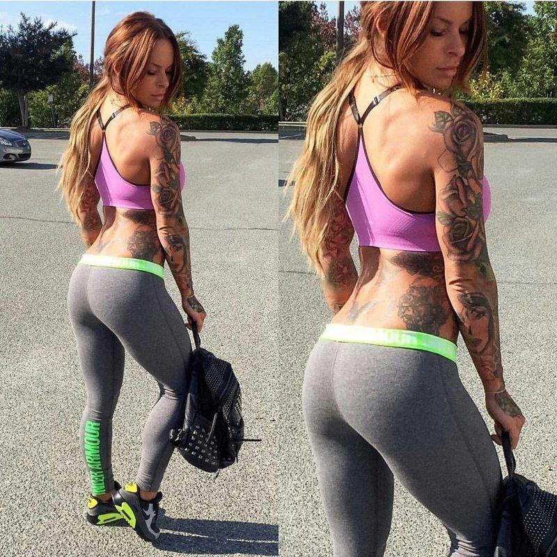 Прекрасные девушки в штанах для йоги девушки, йога, штаны для йоги