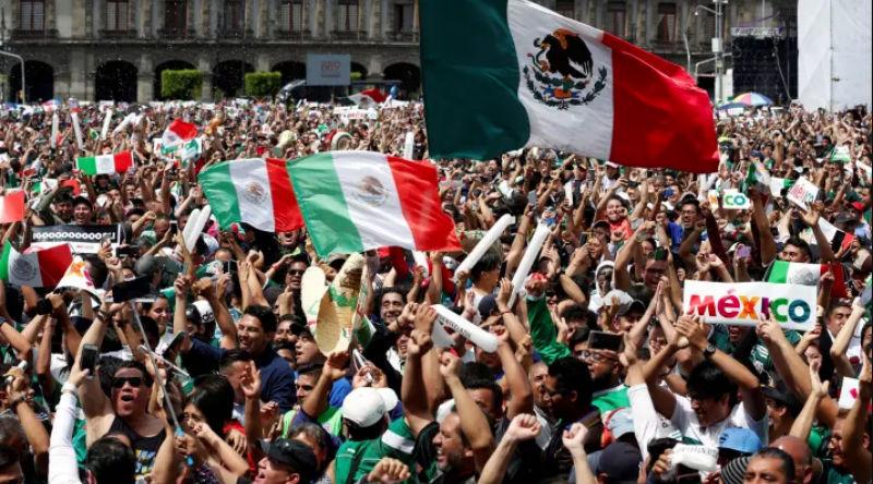 Мексиканские фанаты спровоцировали землетрясение в Мехико после гола сборной Германии