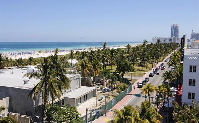 На фото: виды Майами, Флорида
