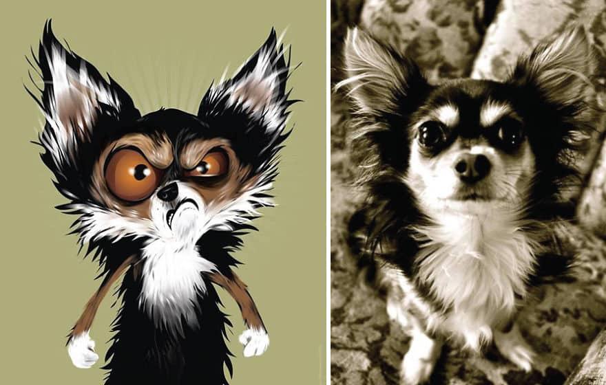 Картинки, животные нарисованные смешные