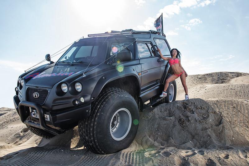 Вездеход-амфибия «Викинг»: автомобиль, который плевать хотел на любое бездорожье амфибии