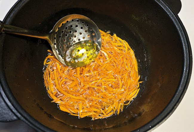 обжарка моркови для постного плова