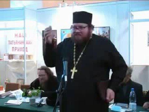 Олег Стеняев на собрании пятидесятников