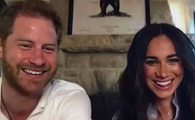 Принц Гарри и Меган Маркл впервые в этом году приняли участие в видеовстрече
