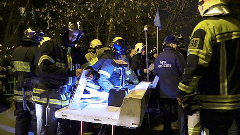 Взрыв газа обрушил стены в двухэтажке под Липецком Происшествия