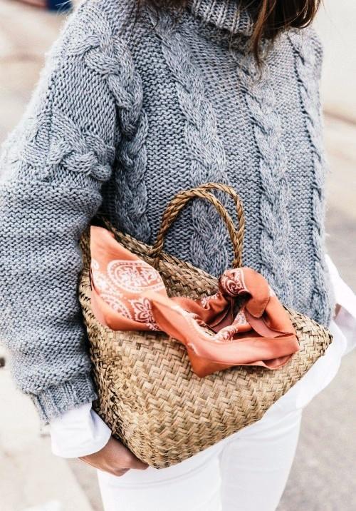 Модно — подборка уютного трикотажа актуальных цветов холодного сезона 2017