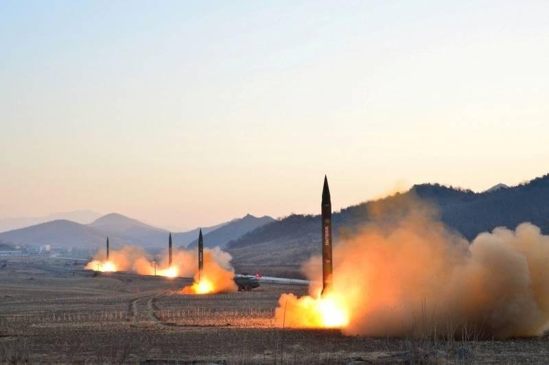 КНДР запустила баллистическую ракету малой дальности