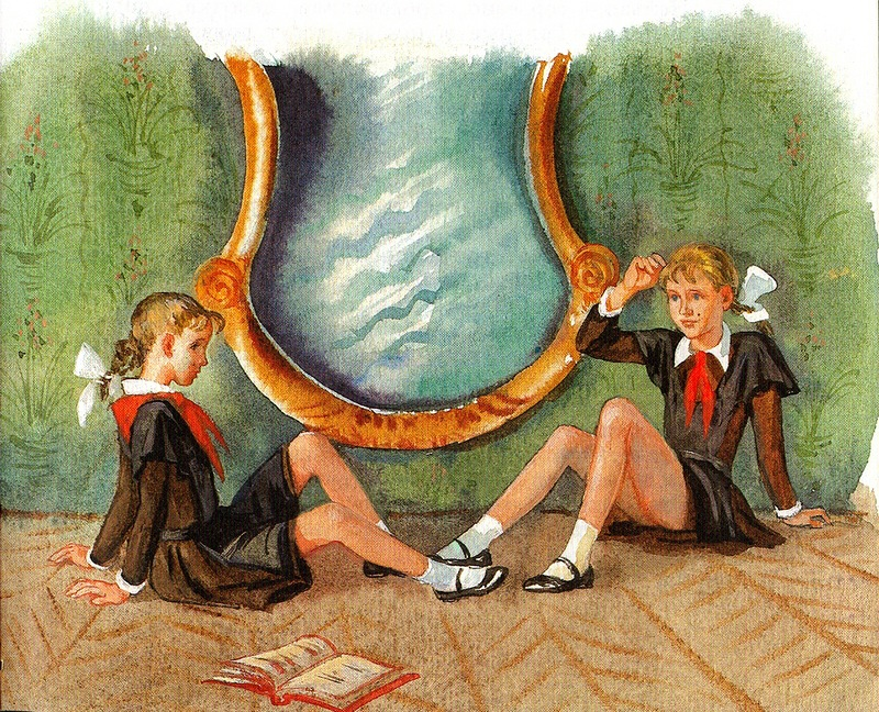 королевство кривых зеркал смотреть картинки