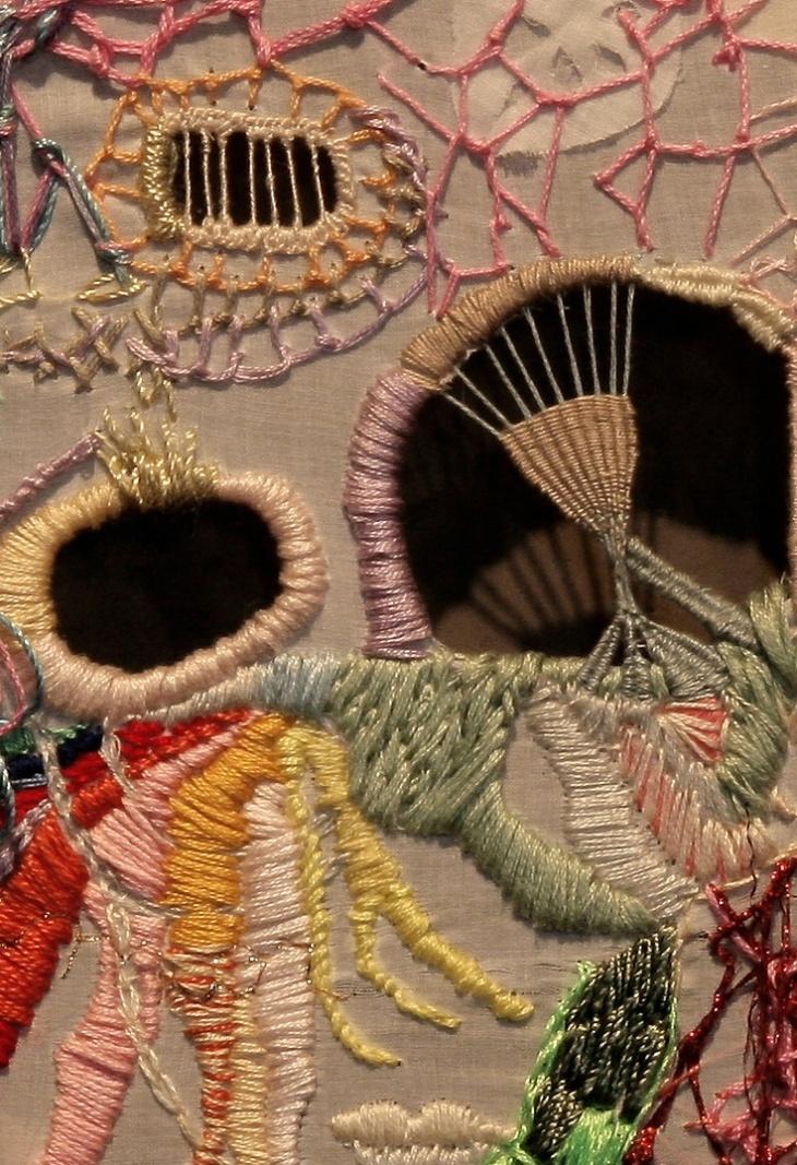 Когда игла становится волшебной: необычная вышивка искусных мастериц вдохновение