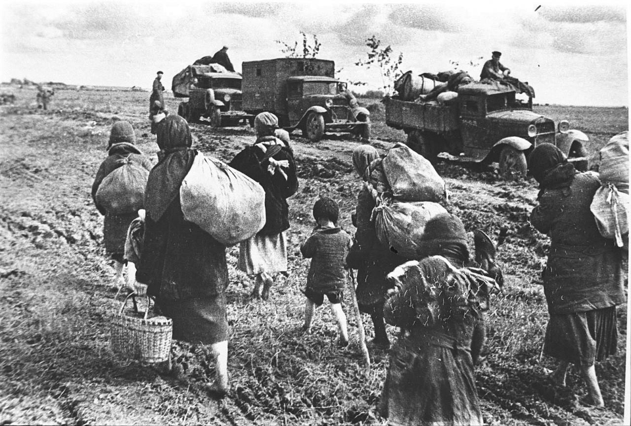 Страшное лето 1941 года.
