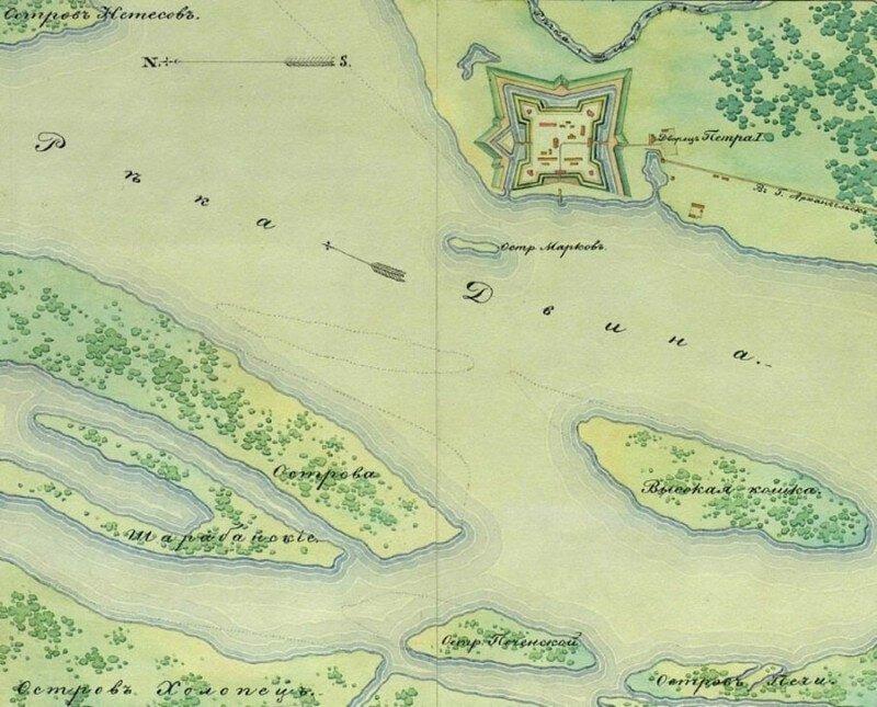 Как Иван Рябов шведскую эскадру на мель посадил