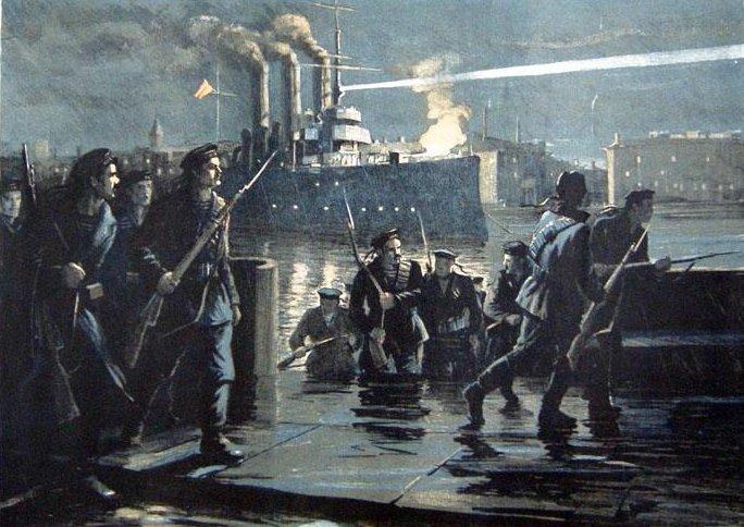 """Митингуйте """"посреди леса"""": Смольный впервые запретил коммунистам праздновать годовщину Октября у «Авроры»."""