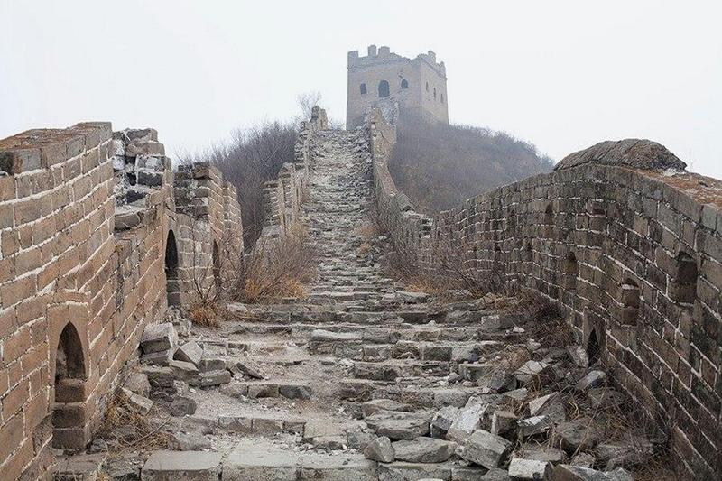 Места, разрушенные туризмом