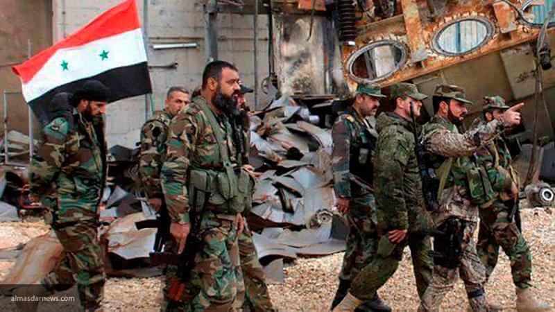 """Сирийские """"Тигры"""" поджидают террористов ИГ в районе Пальмиры"""
