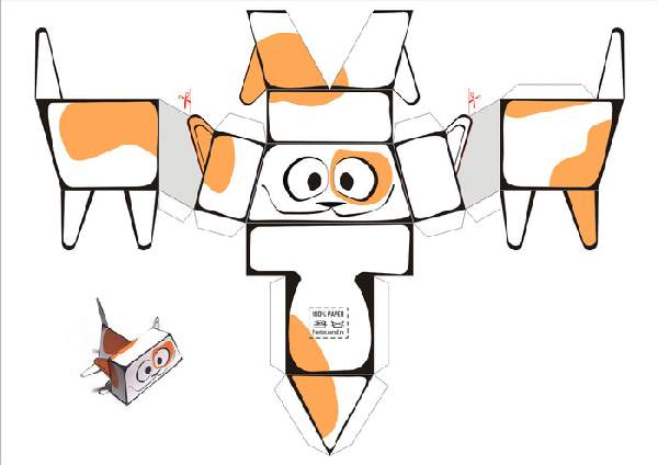 как сделать поделку из бумаги своими руками, фото 22