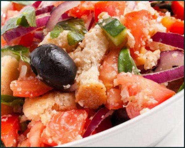 Тосканский салат.