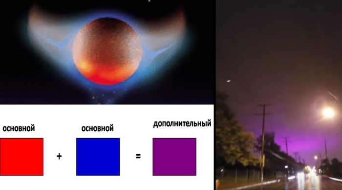 Странные НЛО и фиолетовые закаты над США
