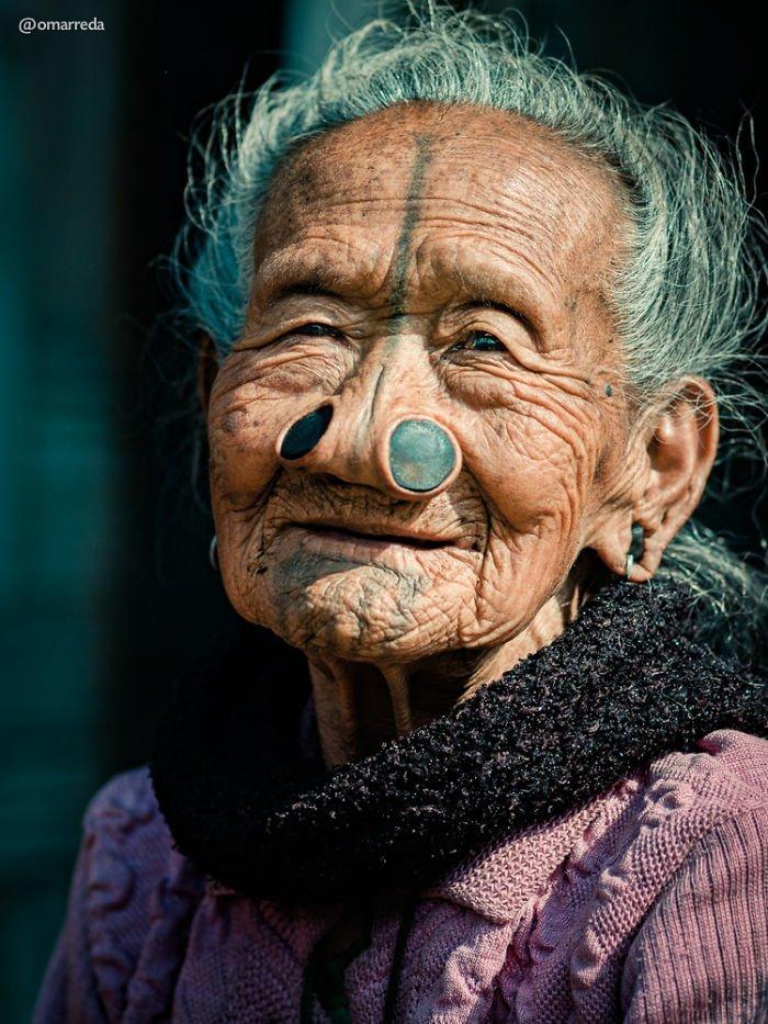 3. апатани, женщина, индия, народ, портрет, традиция, фотография, фотомир