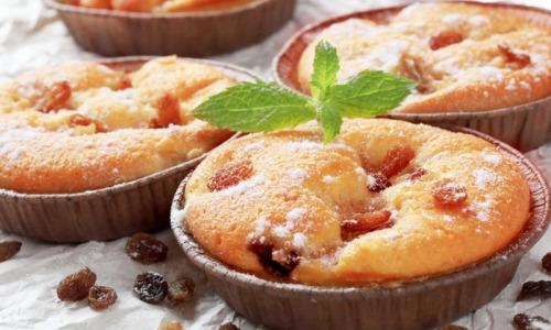 Рецепт дня: Творожные кексы