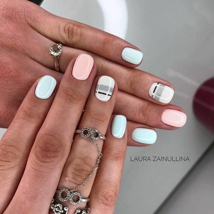 Идеи маникюра для коротких ногтей, которые понравятся даже тем, кто не любит красить ногти