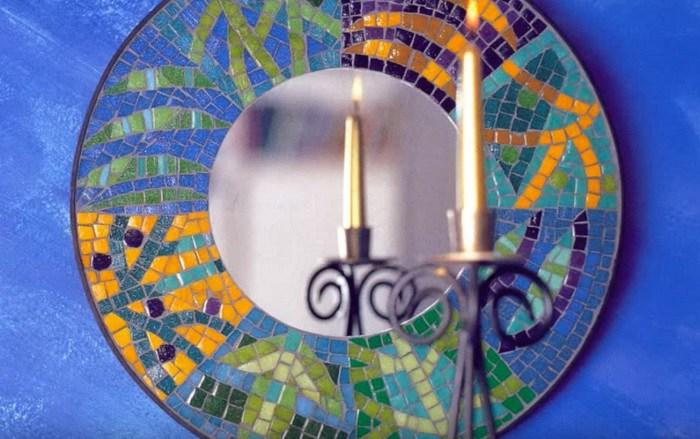 битая плитка мозаика