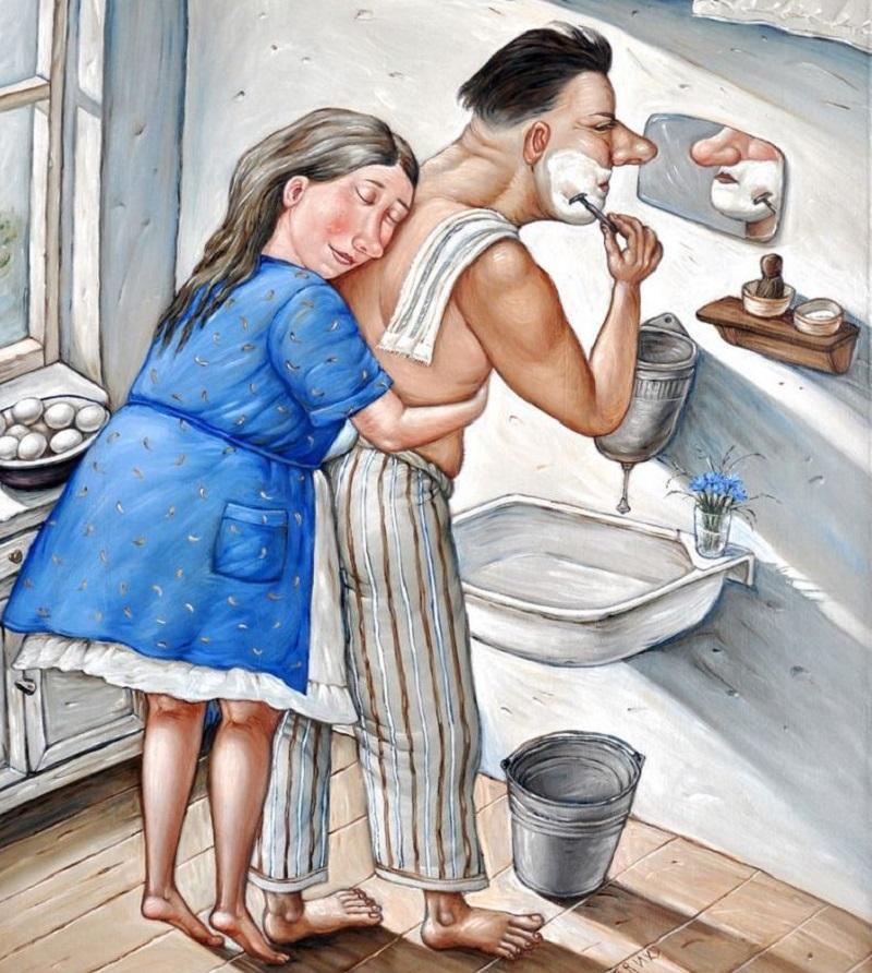 Картинки юмор мужчина женщина ирония