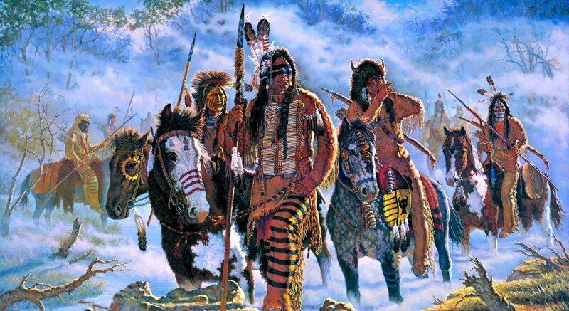 Томагавки и красная кожа: 10 «школьных» заблуждений о североамериканских индейцах америка, индейцы, история, мифы, сша