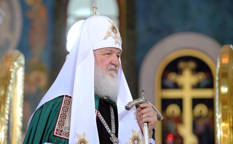 Патриарх призвал к борьбе с …